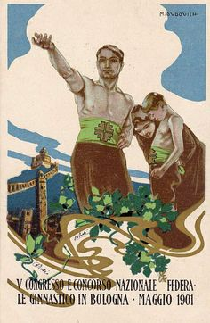 Vintage Italian Posters ~ Liberty by Andrea Speziali