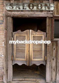 4ft x 6ft Western Photography Backdrop  Cowboy by MyBackdropShop, $49.99