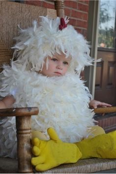 Someone's figured out that feathers are fabulous!