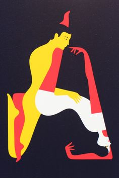 Malika Favre illustration for the forthcoming Penguin Deluxe edition of the Kama Sutra.