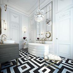 파리 상류층의 삶을 엿볼 수 있는 최고급 아파트 인테리어 : 네이버 포스트