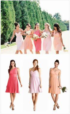 Fabulous Mismatched Bridesmaids Looks with Weddington Way + Free Dress Giveaway! | bellethemagazine.com