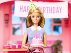 Happy Birthday, 🎂Celebrate with us and share your favorite Barbie memory in the comments below. 1980s Barbie, Barbie Doll Set, Doll Clothes Barbie, Beautiful Barbie Dolls, Mattel Barbie, Vintage Barbie, Barbie Stuff, Barbie Birthday, Barbie Party