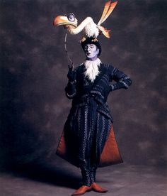 Costumes from the Broadway production of The Lion King - Julie Taymour and Michael Curry
