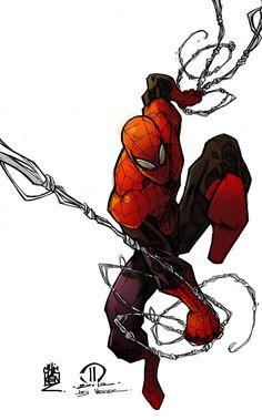 #Superior #Spiderman #Fan #Art. (Superior Spiderman) By: ChickenzPunk. (THE * 5 * STÅR * ÅWARD * OF: * AW YEAH, IT'S MAJOR ÅWESOMENESS!!!™)[THANK Ü 4 PINNING!!!<·><]<©>ÅÅÅ+(OB4E)