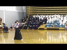 Kyudo - the sound of an arrow being released from bow - YouTube