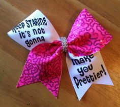 Bella bows  cheer bows  cheerbow  cheerleader  pink by Bellabows76, $14.00