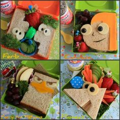 Phineas and Ferb sandwiches-my friend said she would make me some!