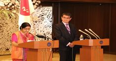 India and Japan on Thursday called for a peaceful, stable, free and prosperous Indo-Pacific region following the Ninth India-Japan Strategic Dialogue co-chaired by Indian External Affairs Minister Sushma Swaraj and Japanese Foreign Minister Taro Kono here.
