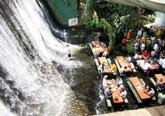 Villa Escudero's Waterfall Restaurant Serves Philippine Cuisine at the Foot of the Falls | Inhabitat - Sustainable Design Innovation, Eco Architecture, Green Building
