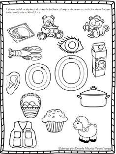Alphabet Activities, Preschool Worksheets, Preschool Learning, Toddler Activities, Learning Activities, Preschool Spanish, Spanish Worksheets, Baby Learning, Dora
