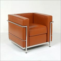 Corbusier: LC-2 Petite Lounge Chair Reproduction  $1380
