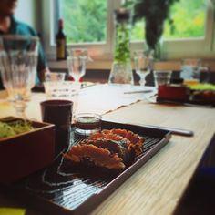 about last night... #tutus #tataki #tuna #dinner #friends #sashimi #fresh by t_u_t_u_s