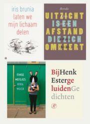 Genomineerden C. Buddingh-prijs voor het beste Nederlandstalige poeziedebuut van afgelopen jaar
