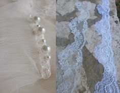 Items similar to Fifth Element IVORY wedding veil with Beautiful French lace edges ivory mantilla veil ivory lace veil ivory tulle veil on Etsy Ivory Wedding Veils, Lace Veils, Mantilla Veil, Fifth Element, French Lace, Wedding Stuff, Tulle, Pearls, Etsy