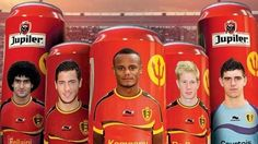 Η εθνική Βελγίου έχει τα δικά της κουτάκια μπύρας!