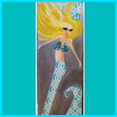 Hey, I found this really awesome Etsy listing at https://www.etsy.com/listing/246650778/turqoise-sea-mermaid