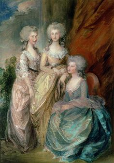 This seems to be a sketch of the above painting. It's less detailed. By Thomas Gainsborough.