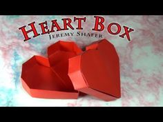 Origami Heart Box - YouTube