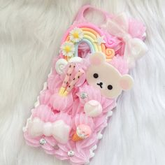 Ready to Ship iPhone 5c Korilakkuma Phone Case ($32) ❤ liked on Polyvore featuring accessories and tech accessories