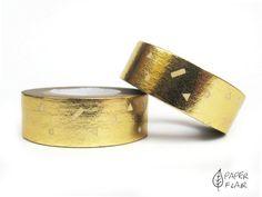 Washi Tape Foil gold. Paperflair.de