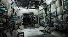 concept ships: Concept ships and interiors by Mark Yang