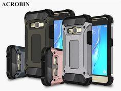 Luxury Slim Armor Anti-Shock Silicone Hybrid Hard PC Phone Case For Samsung Galaxy 2016 J5 J7 J1 mini J2 J3 J5 J7 Prime G530