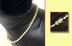 Anima Yellow Gold Plated Cubic Zirconia Dog Necklace - 12 Inch ** More details can be found by clicking on the image.