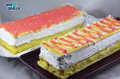 Pastel Napoleón Ana Sevilla cocina tradicional