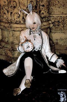 Awesome Alice in Wonderland White Rabbit costume