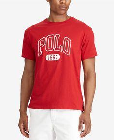 90795982 Polo Ralph Lauren Men's Classic-Fit T-Shirt & Reviews - T-Shirts - Men -  Macy's