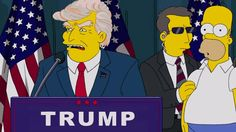 Simpsons, 100 days Trump