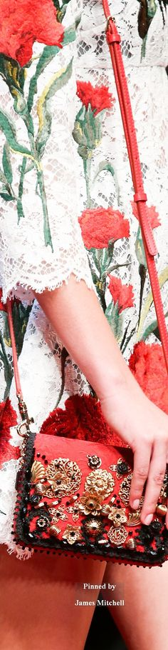 Dolce and Gabana Collection Details  Spring 2015 Ready-to-Wear