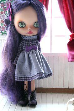 Muñeca de Blythe Custom OOAK n. 102 por Silviacat por Silviacat