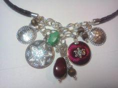 Western Inspired Medallion Charm Necklace - Avon