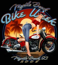 54 Classic Motorcycle Pin-ups from Bikes in the Fast Lane - Daily Motorcycle…