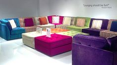 My LOUNGE Collection for Lazar Industries. Now available at Lazar Dealer near you!