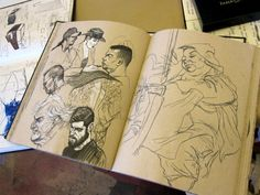 from one of Don Colley's sketchbooks