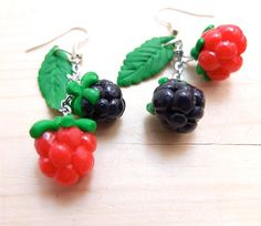 YUM!!! These delicious berries are great for the summer on an every day wear or for something more dressy. Every one can wear them and anytime! Check out the strawberries for something similar!