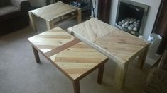 Coffee tables pallet project