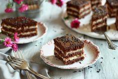 Hungarian Cake, Tiramisu, Cheesecake, Sweets, Cookies, Ethnic Recipes, Food, Crack Crackers, Gummi Candy