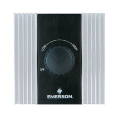Emerson SW82 Switch for Ceiling Fan Control White Ceiling Fan Accessories Controls Wall Controls