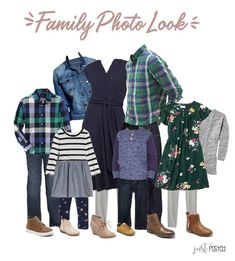Planning on what to wear for fall family pictures? Here is the perfect look! Pops of green, navy and denim are perfect for any coordinating look. Fall Family Picture Outfits, Christmas Pictures Outfits, Family Pictures What To Wear, Family Photo Colors, Family Portrait Outfits, Summer Family Pictures, Winter Family Photos, Family Christmas Pictures, Family Pics