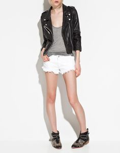 LEATHER JACKET - Jackets - TRF - New collection - ZARA