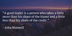 Short Famous Leadership Quotes