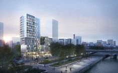 Ameller, Dubois et Associés - Architecture - Paris - Tour à usages mixtes