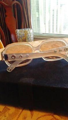 8c9960679a6 Coach Clear Grommet Audrey Sunglasses