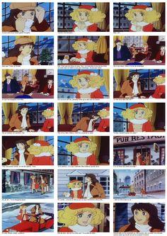 Episodes avec images et textes - Candy Candy