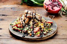 Ταμπουλέ αντιοξειδωτικό με ψητά λαχανικά και κοτόπουλο γλυκόξινο-featured_image