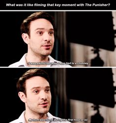 Charlie Cox shares essential information.
